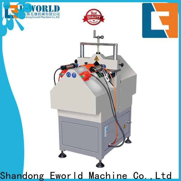 Eworld Machine cutting pvc windows doors assemble machine factory for manufacturing