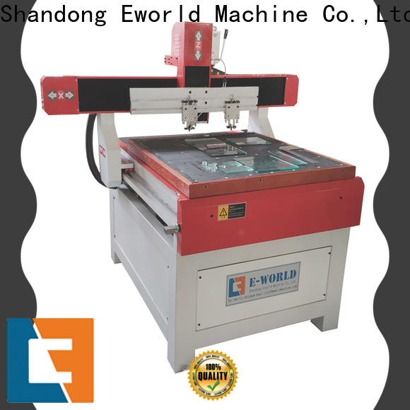 Eworld Machine stable performance cnc glass cutting dedicated service for industry