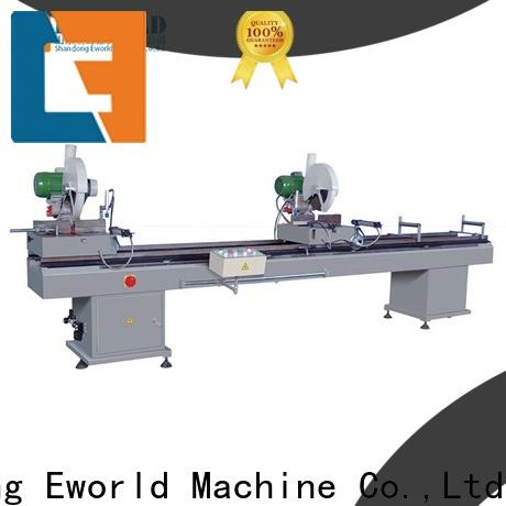 Eworld Machine latest pvc window machinery for sale supplier for industrial production