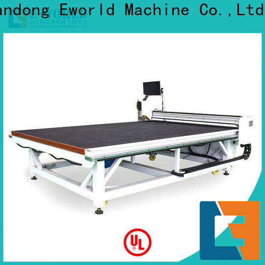Eworld Machine horizontal automatic glass cutting production line dedicated service for machine