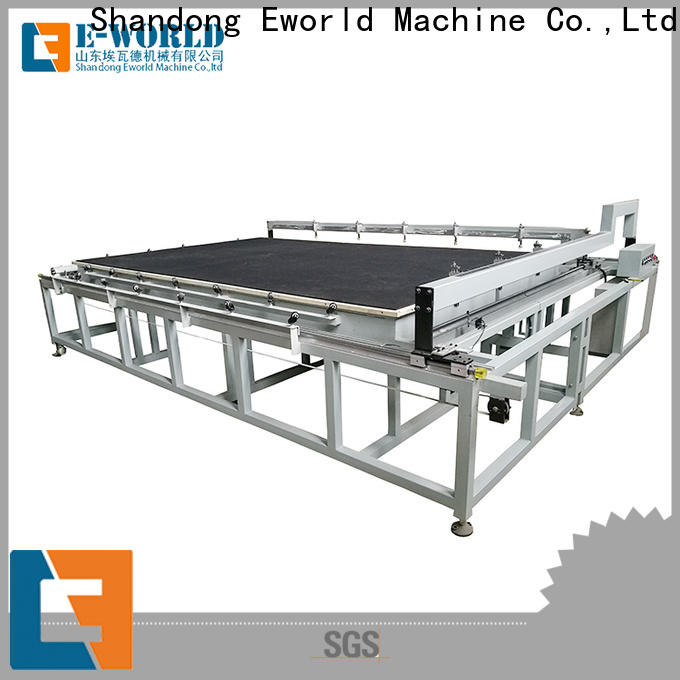 Eworld Machine breaking automated glass cutting foreign trader for sale