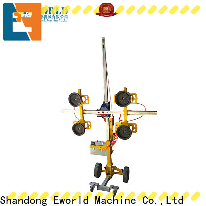 Eworld Machine loading suction cup glass lifter for distributor