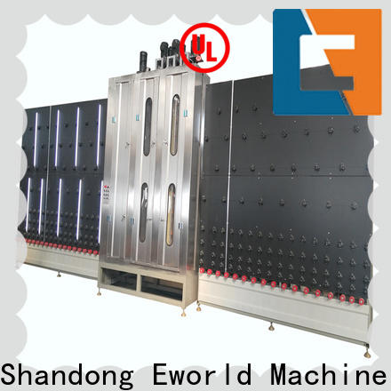 Eworld Machine technological glass washer and dryer international trader for manufacturing