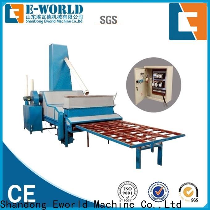 Eworld Machine inventive automatic glass sand blasting machine from China for manufacturing