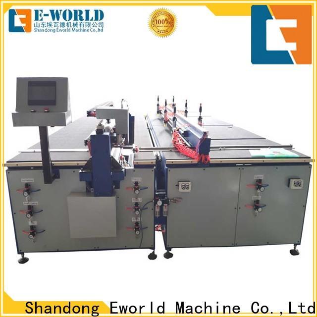 Eworld Machine size manual glass cutting machine foreign trader for machine