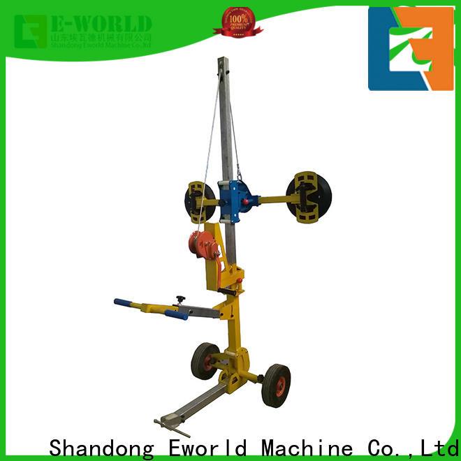Eworld Machine original mobile glass lifter factory for distributor