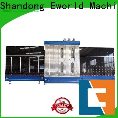 Eworld Machine open low-e glass washing machine factory for distributor