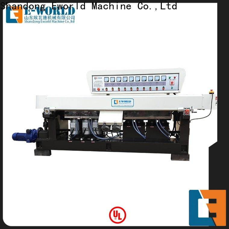 Eworld Machine size straight line edging machine OEM/ODM services for industrial production