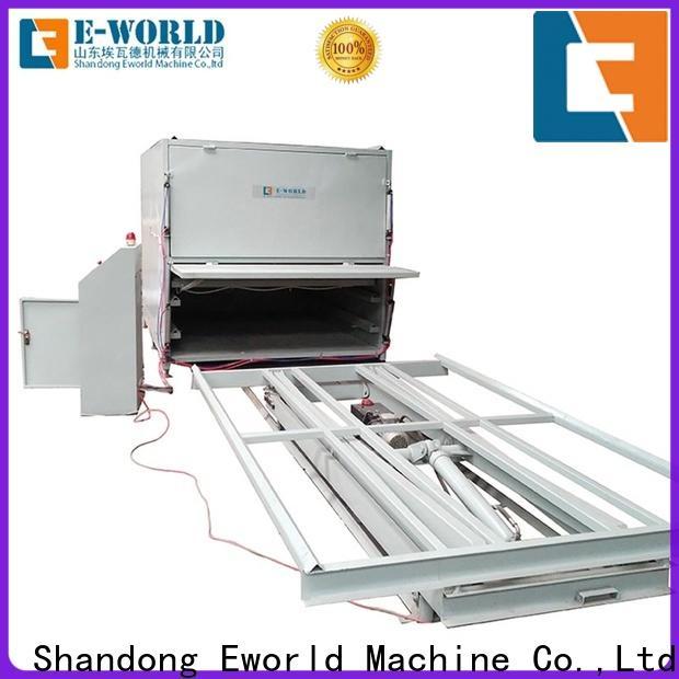 Eworld Machine glass vacuum heating and laminating machine supplier for industry