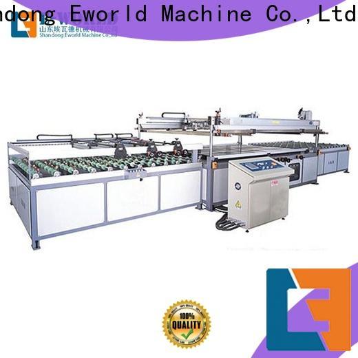 Eworld Machine original paper film screen printing machinery manufacturer for manufacturing