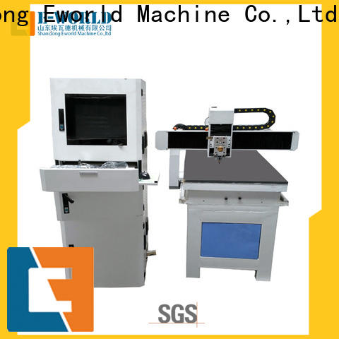 Eworld Machine reasonable structure automatic glass cutting production line foreign trader for machine