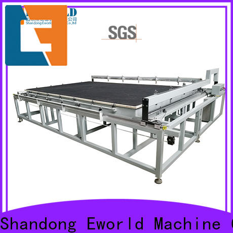 Eworld Machine good safety manual glass cutting machine dedicated service for industry