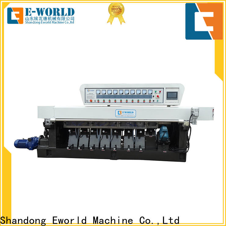 Eworld Machine processing glass edge processing machinery supplier for global market