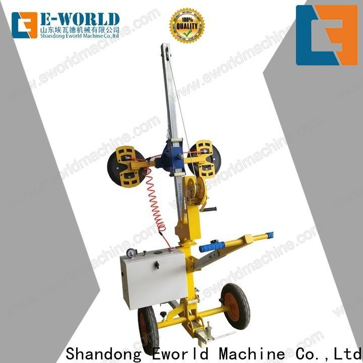 Eworld Machine installation glass vacuum lifting equipment for industry