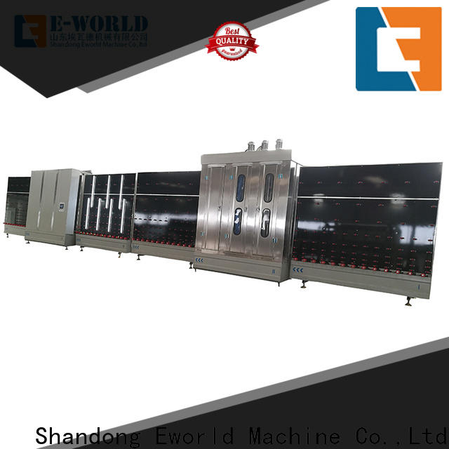 Eworld Machine fine workmanship insulating glass production line factory for manufacturing