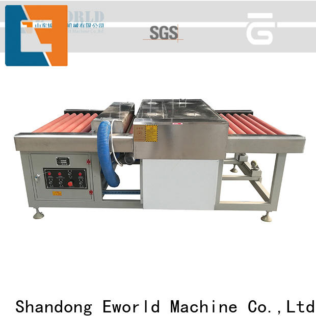 Eworld Machine trade assurance automatic glass washing and drying machine international trader for distributor