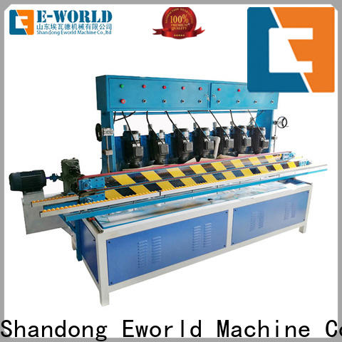 Eworld Machine technological glass belt edge polishing machine OEM/ODM services for global market