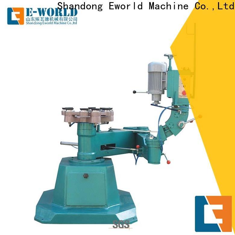 Eworld Machine edge portable glass edge polishing machine manufacturer for industrial production
