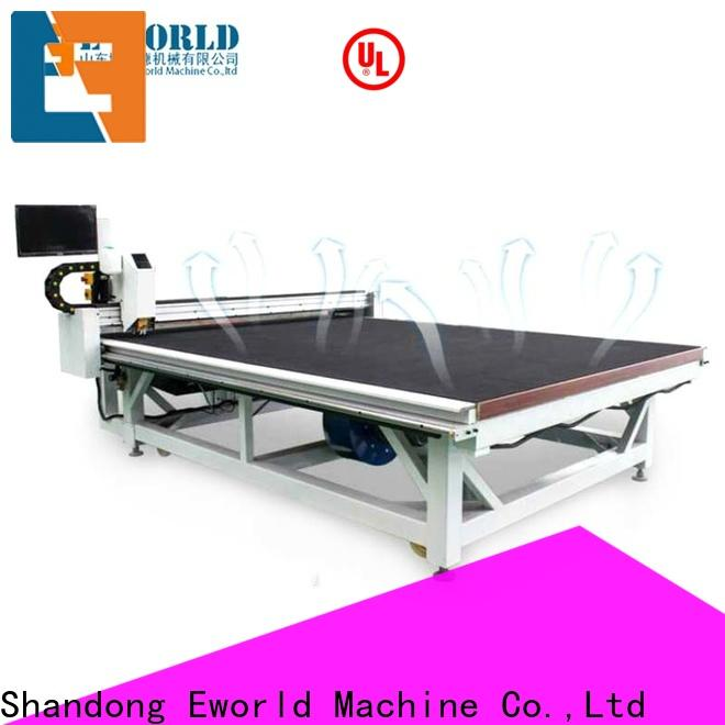 stable performance automatic glass cutting production line laminated dedicated service for machine