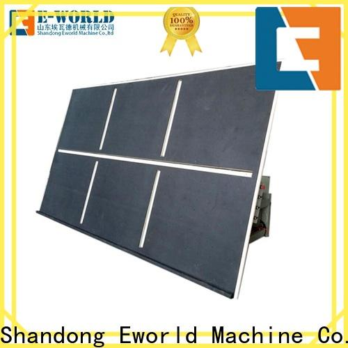 Eworld Machine good safety glass cutting table foreign trader for sale