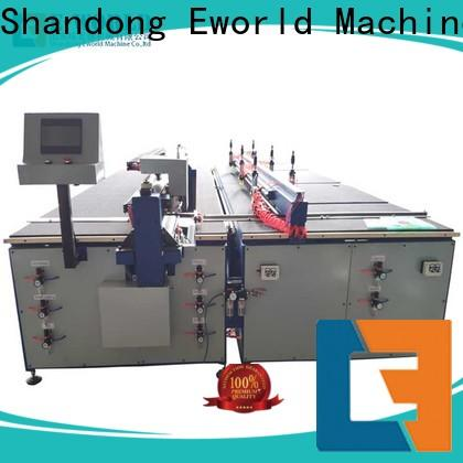 Eworld Machine reasonable structure glass cutting equipment for sale foreign trader for industry