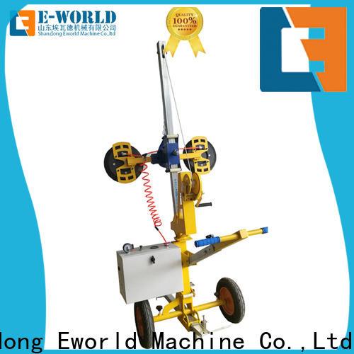 Eworld Machine original outdoor glass installation lifter for distributor