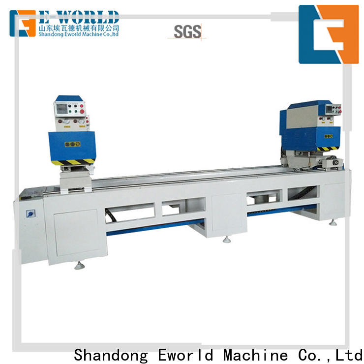 Eworld Machine upvc pvc window machinery order now for industrial production
