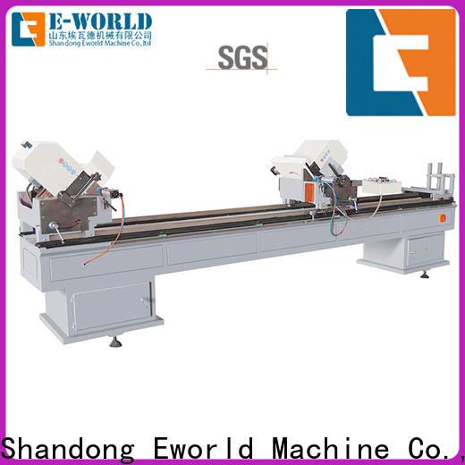 Eworld Machine mullion UPVC window door machine order now for industrial production
