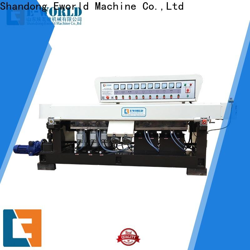 Eworld Machine processing glassware polishing machine manufacturer for global market