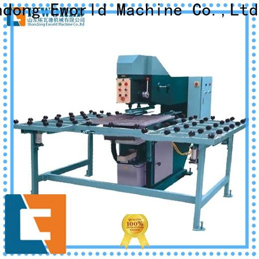 Eworld Machine standardized automatic glass drilling machine maker for distributor