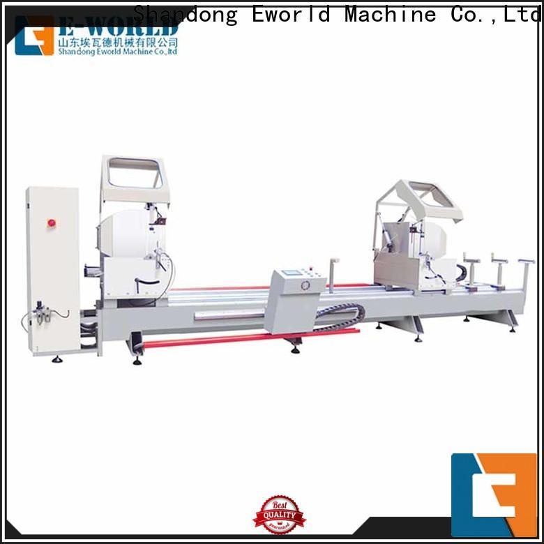 Eworld Machine machine aluminum windows hardware punching machine manufacturer for industrial production