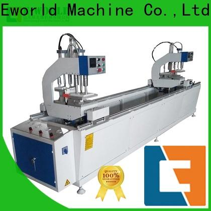 Eworld Machine latest double head cutting saw supplier for industrial production