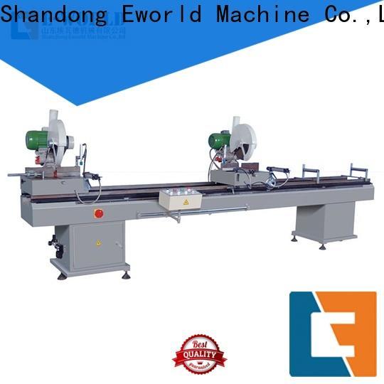 Eworld Machine customized upvc cutting machine factory for importer