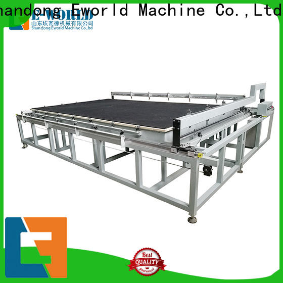 Eworld Machine high reliability laminated glass cutting table dedicated service for machine
