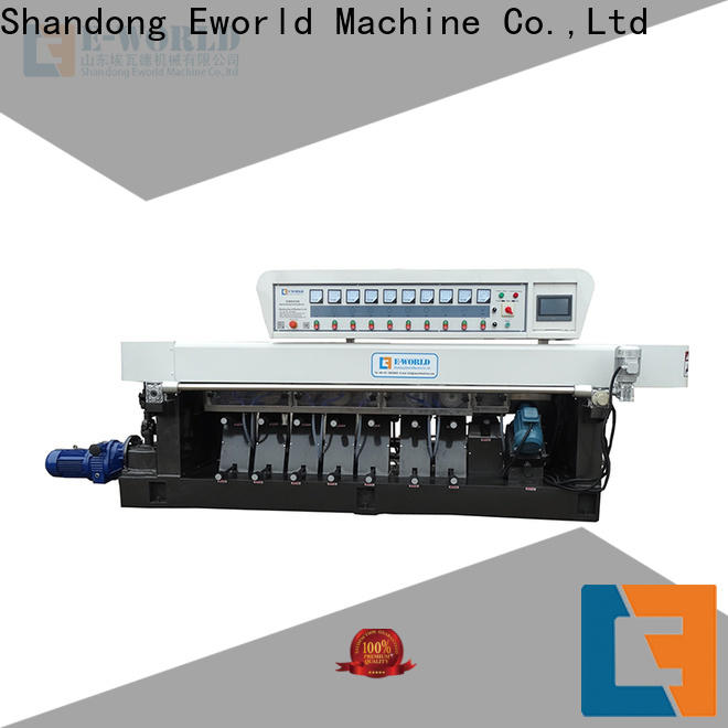 Eworld Machine fine workmanship glass pencil edge polishing machine OEM/ODM services for global market