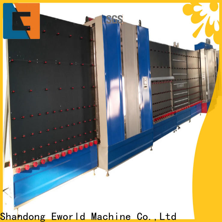 Eworld Machine glass vertical insulating glass machinery provider for commercial industry
