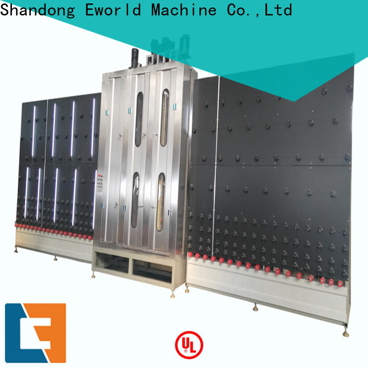 Eworld Machine trade assurance horizontal glass washing and drying machine supplier for industry
