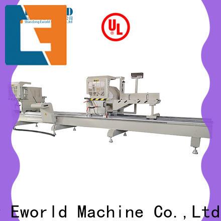 Eworld Machine trade assurance aluminum window corner crimping machine manufacturer for manufacturing