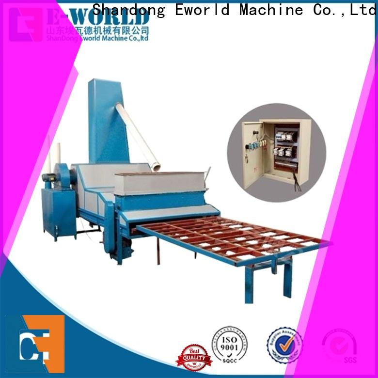 Eworld Machine competitive price vertical glass sandblasting machine factory for manufacturing