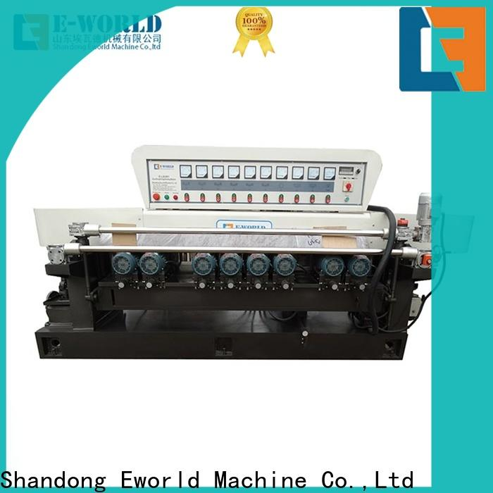 Eworld Machine edging mirror glass polishing machine manufacturer for global market