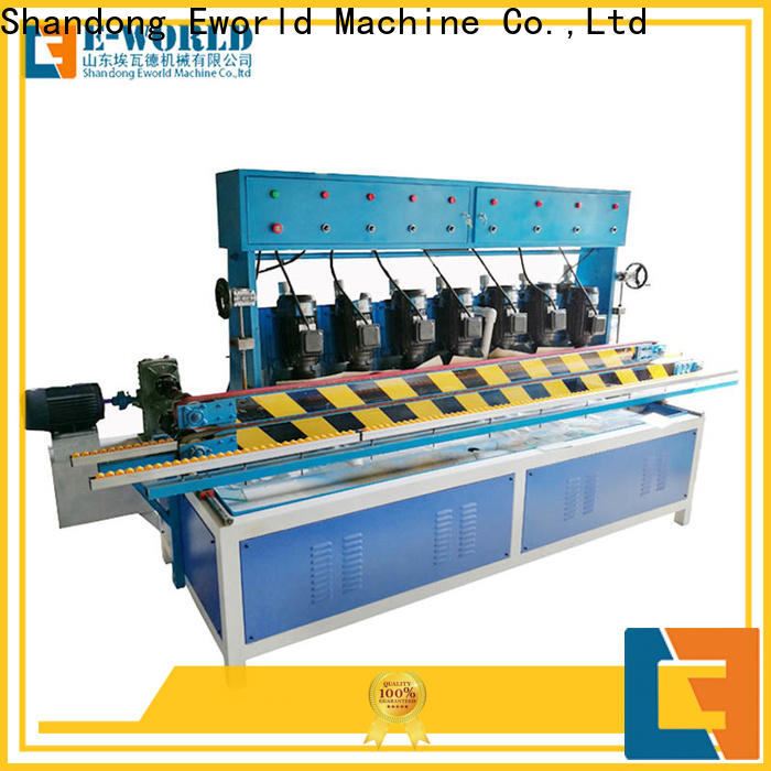 Eworld Machine trade assurance glass edge polishing machine for sale manufacturer for industrial production