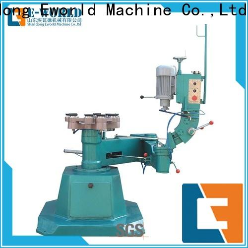 Eworld Machine automatic automatic glass polishing machine supplier for industrial production