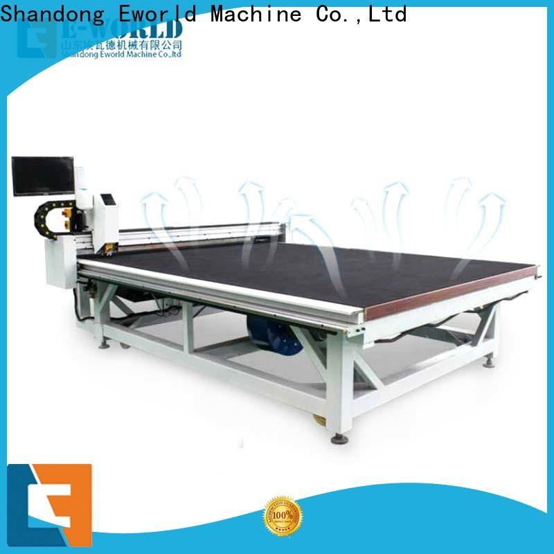 Eworld Machine high reliability laminated glass cutting table exquisite craftsmanship for machine