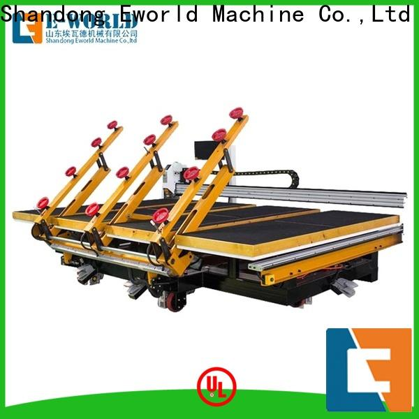 Eworld Machine reasonable structure automatic glass cutting table for sale exquisite craftsmanship for industry