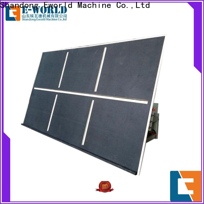 Eworld Machine reasonable structure glass cutting table for sale dedicated service for machine