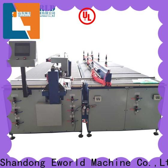 Eworld Machine shaped cnc glass cutting table foreign trader for industry