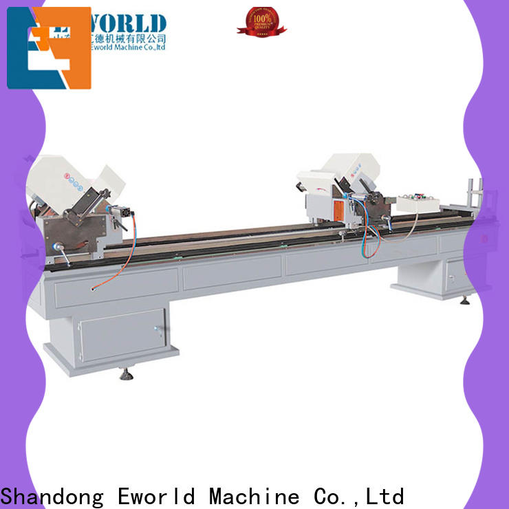 Eworld Machine upvc upvc welding machine for sale factory for industrial production