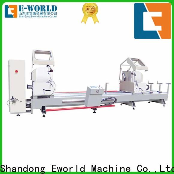 Eworld Machine fine workmanship aluminium window crimping machine manufacturer for manufacturing