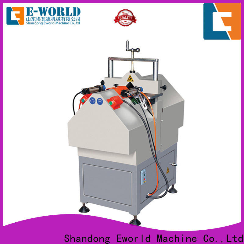Eworld Machine glazing upvc windows welding cutting machine supplier for importer