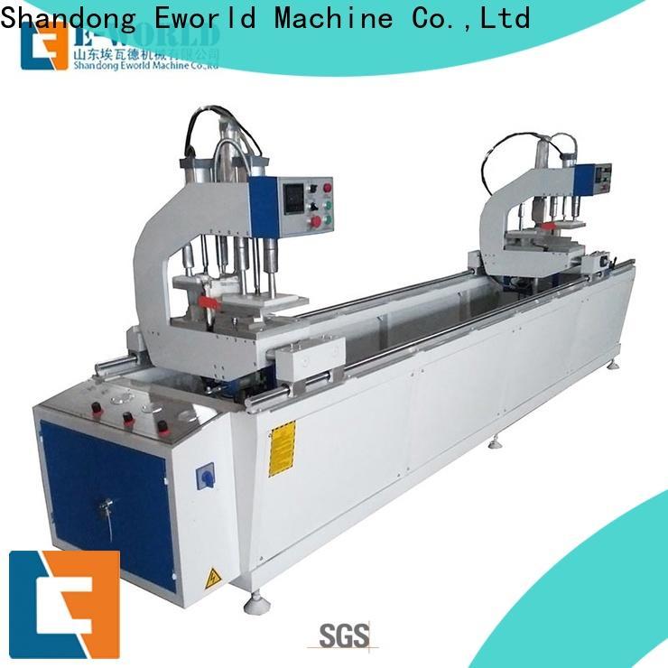 Eworld Machine mullion portable upvc window welding machine supplier for importer